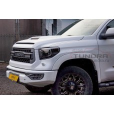"""Wheel arch fender flares 1"""" composite for Toyota Tundra 2014-2021"""