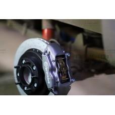 Комплект передней тормозной системы Brembo R20 для Toyota Tundra 2007-2021