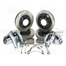 StopTech Big Brake R18 front and rear brake system kit for Toyota Tundra 2007-2021