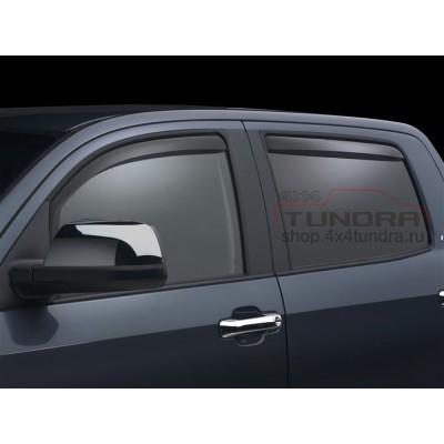 Wind deflectors WeatherTech Toyota Tundra 2007-2013 Crew Max, dark