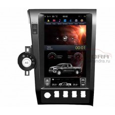 """OEM multimedia system in Tesla style for Toyota Tundra II, Toyota Sequoia Screen 13.6 """", Super Audio"""