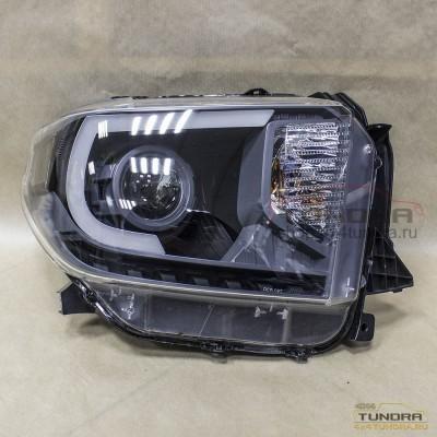 Headlights Toyota Tundra 2014+ orig xenon+LED