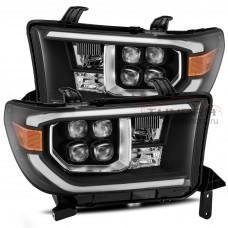 AlphaRex NOVA-Series LED Projector Headlights (Black) for 07-13 Toyota Tundra / 08-21 Toyota Sequoia