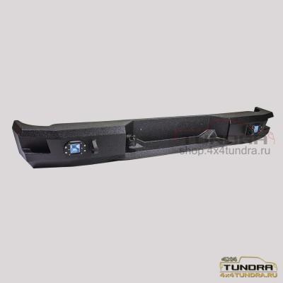 Rear steel power bumper V1 Toyota Tundra 2007-2013