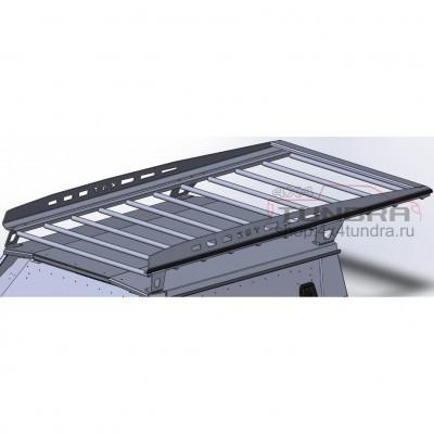Forwarding aluminum roof rack KDT Toyota TUNDRA for kung
