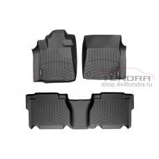 Carpets of salon WeatherTech Toyota Tundra 2007-2013, Black