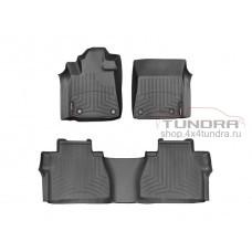 Carpets of salon WeatherTech Toyota Tundra 2014+, Black