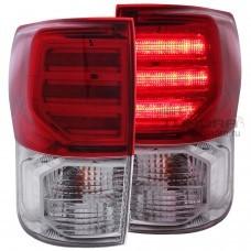 Задние фонари Toyota Tundra 2007-2013 LED диод тонированные
