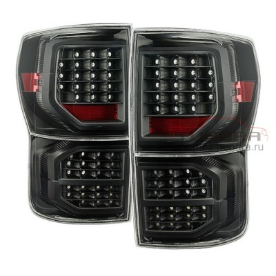 Taillights Toyota Tundra 07-13 LED smoky diode