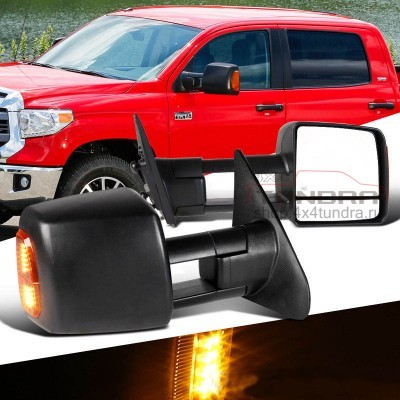Electric folding towing mirrors Toyota Tundra heated (original)