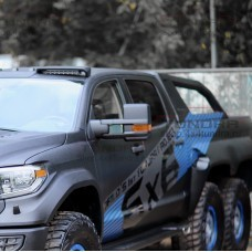 Зеркала буксировочные HERCULES DESIGN с подогревом для Toyota Tundra 2007-2021