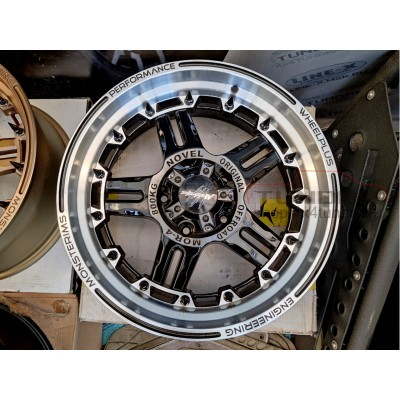 Wheel disk Monsterims MOR-4 FANTASTIC R20 5x150 (FLASH BLACK)