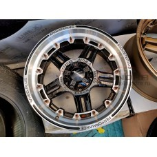 Wheel disk Monsterims MOR-4 FANTASTIC R20 5x150 (FLASH BLACK-BRONZE)